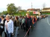 Artur Czernecki  wśród uczestników Białego Marszu
