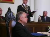 Wygłoszenie laudacji na cześć Prezydenta RP Lecha Kaczyńskiego przez przewodniczącego Rady Miasta Nowego Sącza Artura Czerneckiego
