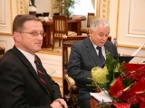 Gościnnie u Prezydenta RP Lecha Kaczyńskiego
