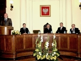 Prezydium- spotkanie z prezydentem RP Lechem Kaczyńskim