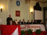 Wystapienie Ordynariusz Wiktora Skworca podczas uroczystej Sesji Rady Miasta z okazji 20-lecia samorządności