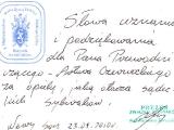 Podziękowania - Związek Sybiraków
