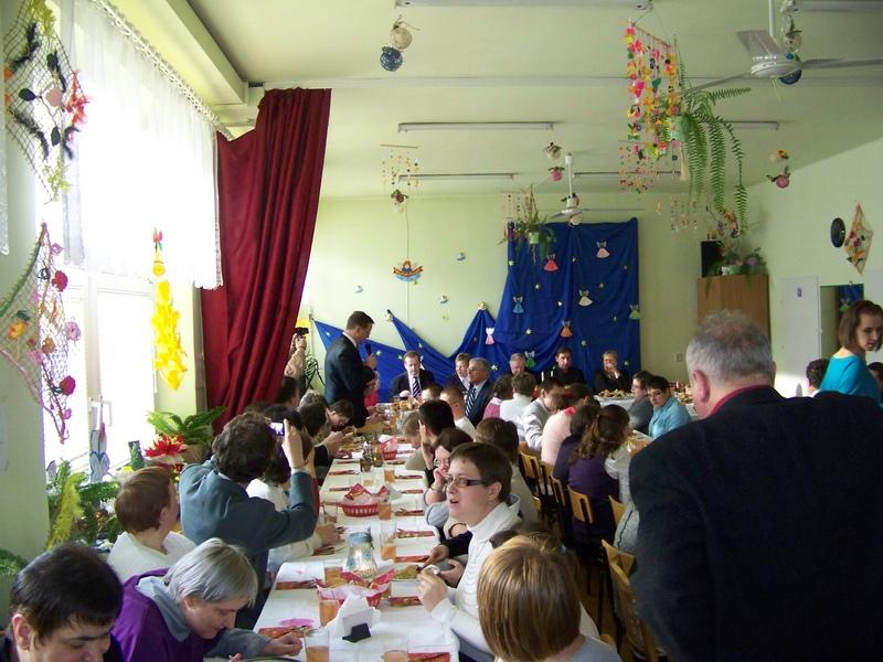 Spotkanie wigilijne Warsztatów Terapii Zajęciowych