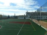 Nowo wybudowane boisko sportowe przy Gimnazjum nr 5.