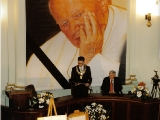 IV Rocznica Śmierci Jana Pawła II Uroczysta/ Sesja Rady Miasta