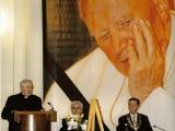 IV Rocznica Śmierci Jana Pawła II Uroczysta/ Sesja Rady Miasta - Wystąpienie Biskupa Tadeusza Pieronka